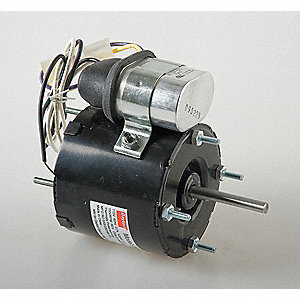 1/20 HP, HVAC Motor, Permanent Split Capacitor, 3000 Nameplate RPM, 208-230 Voltage, Frame 3.3