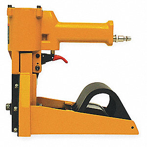 Air Hand Clinch Stapler, Top, Medium Duty, Staple Capacity 1000, Crown 1-3/8""