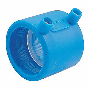 Coupling,3 In,No Hub,Polypropylene