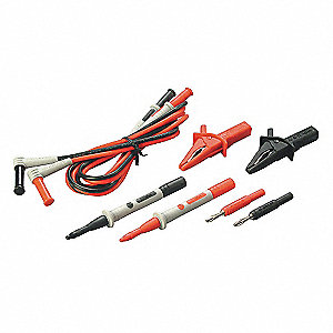 Extension Test Lead Kit, For Use With Multimeters and Clamp On Ammeters