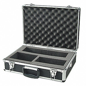 Hard Carrying Case,18 In H,6 In D,Silver