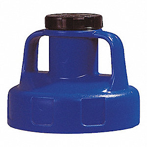 HDPE Utility Lid, Blue&#x3b; For Use With Mfr. No. 101001, 101002, 101003, 101005, 101010