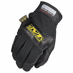 Fire Retardant Gloves,S,Black,PR