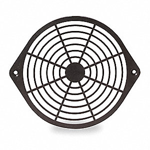Plastic Fan Guard, 1 EA,For Fan Size (In.) 6-3/4