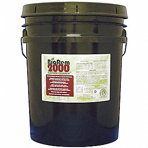 Cleaner/Degreaser,  5 gal. Cleaner Container Size,  Pail Cleaner Container Type