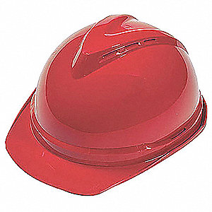 Hard Hat,6 pt. Ratchet,Red