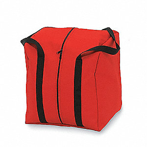 Gear Bag,19-1/2 Wx 17 Dx 15-1/2 In H,Red
