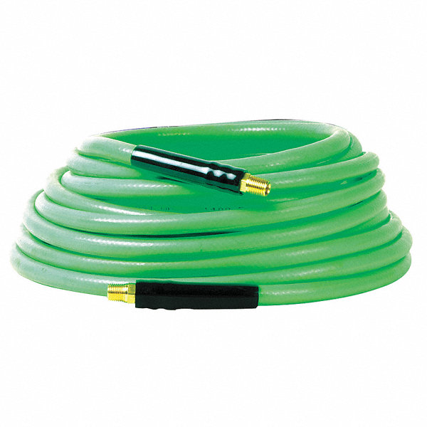 legacy 50 ft pvc flexible plastic hose green 3rwr7. Black Bedroom Furniture Sets. Home Design Ideas