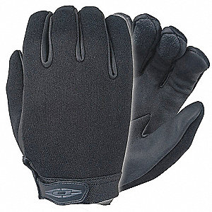 LAW ENFORCEMENT GLOVE,2XL,BLACK,PR
