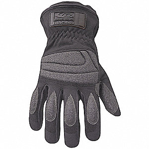 Law Enforcement Glove,XS,Black,PR