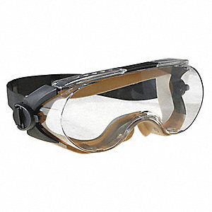 Anti-Fog Indirect Chemical Splash Goggles, Clear Lens