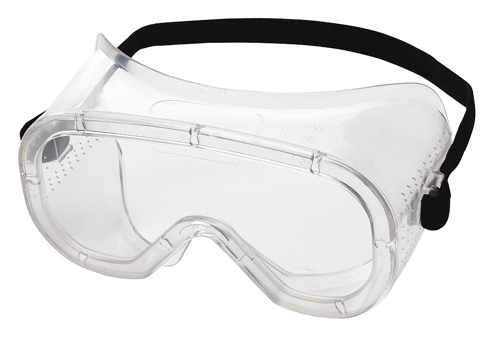 Anti-Fog Direct Protective Goggles, Clear Lens