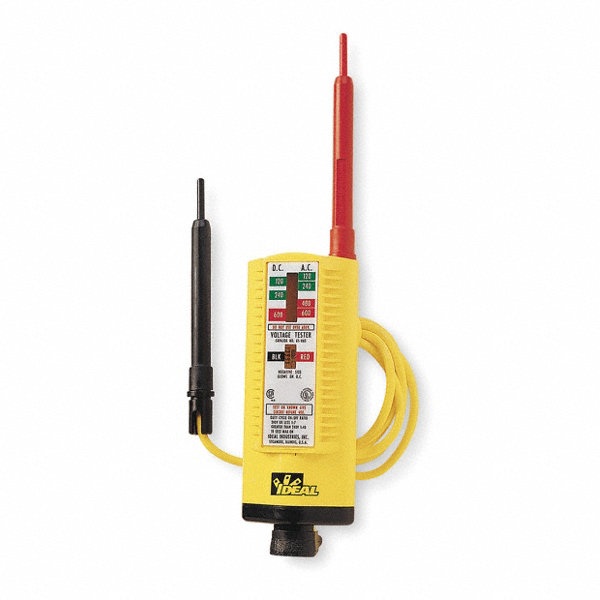 Ideal Electrical Testers : Ideal voltage tester vac vdc t grainger