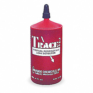 Leak Detector,4 oz.,Red