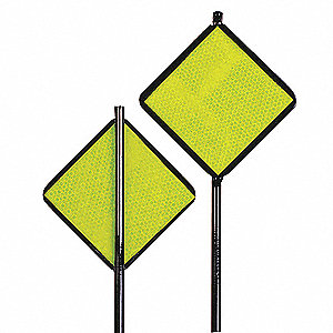 Reflective Driveway Marker,Lime Grn,48 H