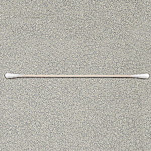 Cotton Swab,Dbl Tip,3/16 x 6 In,PK1000