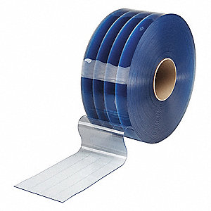 Flexible Bulk Roll,Reinforced,12in,Clr