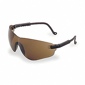 Falcon® Anti-Fog Safety Glasses, Espresso Lens Color
