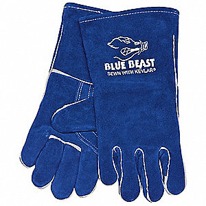 "Welding Gloves,Stick,13-1/2"",XL,PR"