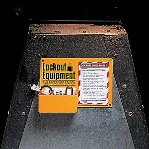 Lockout Equipment Procedure Station