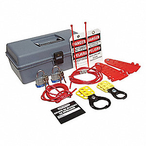Bilingual Portable LockoutKit,Electrical