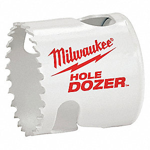 Hole Dozer Hole Saw,Bi-Metal,1-5/8 In
