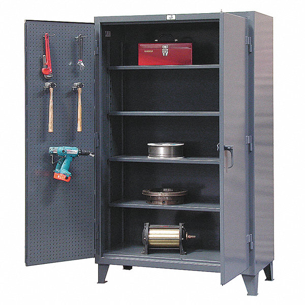 strong hold pegboard cabinet 48 overall width 78