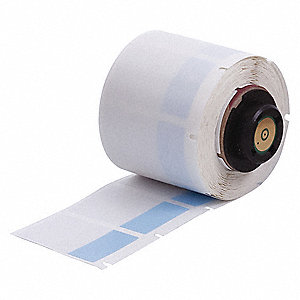 "Blue on Translucent, 250 Labels per Roll  1-1/2"" H x 1"" W, 1 EA"