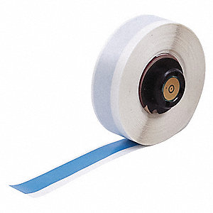 "Vinyl Vinyl Label Tape Cartridge, Blue, 1/2""W x 50 ft."