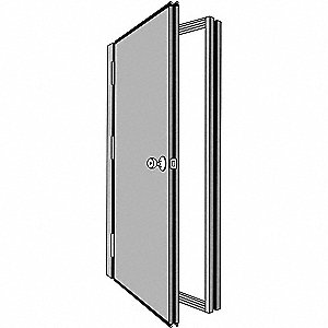 Security Door,Hand Right,85 7/16x38 5/8