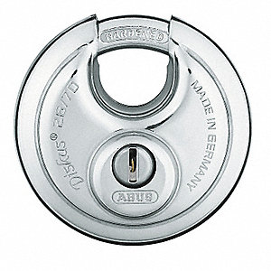 "Keyed Padlock,Alike,2-3/4""W"