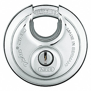 "Keyed Padlock,Alike,3-1/4""W"
