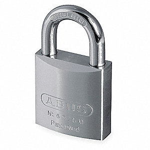 "Keyed Padlock,Different,2""W"