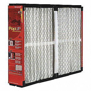 Pop-Up Filter Media,20 In. W,16 In. H