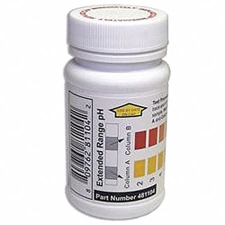 Test Strips  50 PK Testing Parameter: pH Range: 2 to 12 ppm