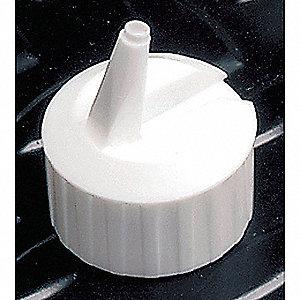 CAP, FLIP-TOP WHITE 28-400MM NECK,P
