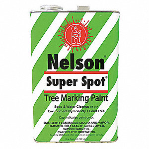 Red Tree Marking Paint, Solvent Base Type, 1 gal.