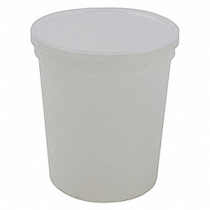 Wide Mouth Specimen Container, Plastic, 240mL, Clear, 250 PK