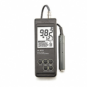 Waterproof ATC Conductivity Meter