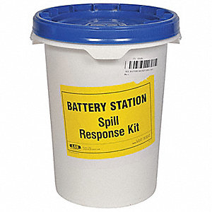Battery Spill Kit,5 Gal