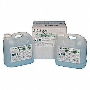 Acid Neutralizer, Neutralizes Acids, Liquid, 2.5 gal.