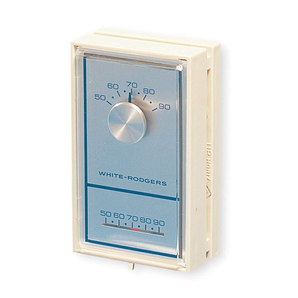 WHITE-RODGERS Low Voltage T-Stat - 3TZ47|1C30-302 - Grainger