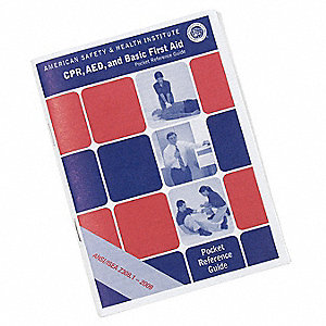 Handbook,  English,  Number of Pages 21,  First Aid,  Provides Quick Reference,  Book/Booklet