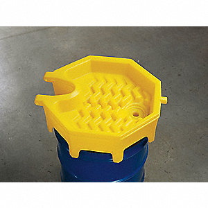 Drum Funnel,11 In,with Spout