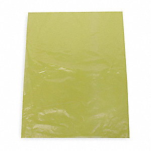 1.5 gal. Yellow Solid Waste Container Bags, Super Heavy Strength Rating, Flat Pack, 100 PK
