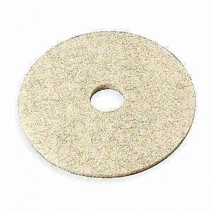 Burnishing Pad,24 In,Tan,PK5
