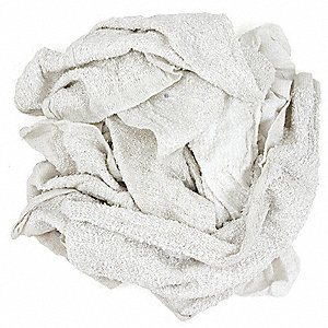 White Turkish Towel, Size: Varies, 25 lb. Box