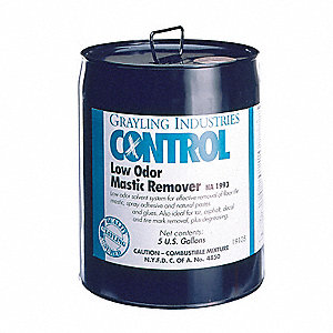 Odorless Mastic Remover, Size: 5 gal.