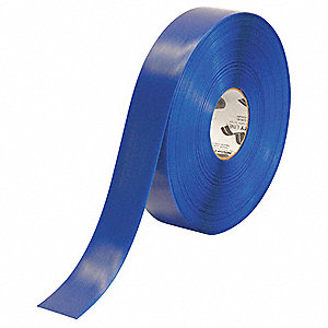 "Floor Marking Tape, Solid, Roll, 2"" x 100 ft., 1 EA"