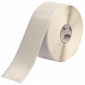 "Floor Marking Tape, Solid, Roll, 4"" x 100 ft., 1 EA"